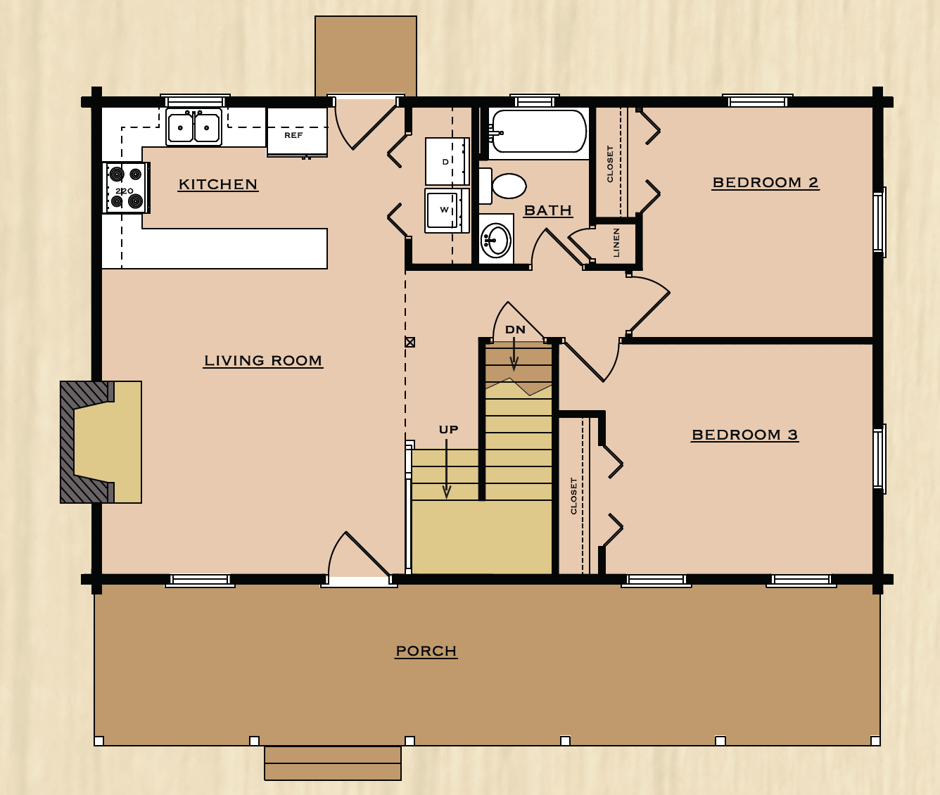 Floor Plans Rp Log Homes